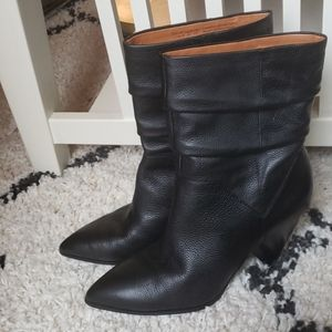 Franc Sarto A-NEVE  black leather boots 11
